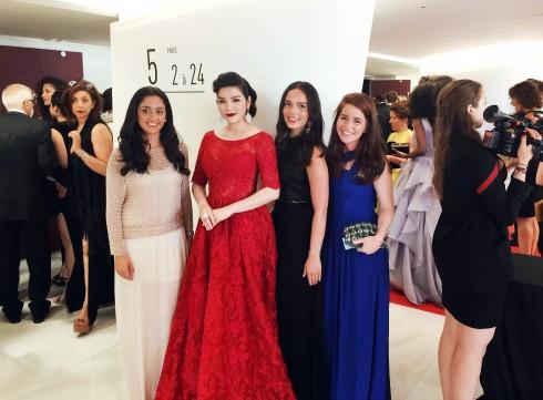 Lý Nhã Kỳ nổi bật với sắc đỏ cổ điển tại Cannes 2016 11
