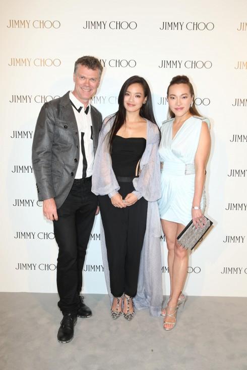 Pierre Denis, Shu Qi & Elaine Yin