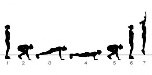 Burpee: Bài tập giảm mỡ bụng nhanh nhất 3