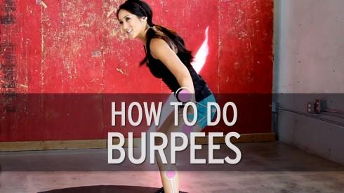 Burpee: Bài tập giảm mỡ bụng nhanh nhất 7
