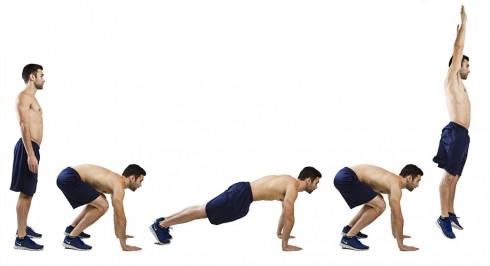 Burpee: Bài tập giảm mỡ bụng nhanh nhất 9