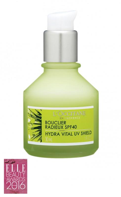 <strong>5. L'OCCITANE ANGELICA UV SHIELD SPF 40</strong><br/>Được làm từ cây bạch chỉ hữu cơ ở vùng Drôme nước Pháp, kem chống nắng SPF40 bảo vệ làn da hiệu quả khỏi những tác động có hại từ ánh nắng mặt trời. Kết cấu kem mềm mại, thẩm thấu nhanh sẽ giúp giữ ẩm và mang lại sức sống cho làn da. Giá: 1.200.000 VNĐ