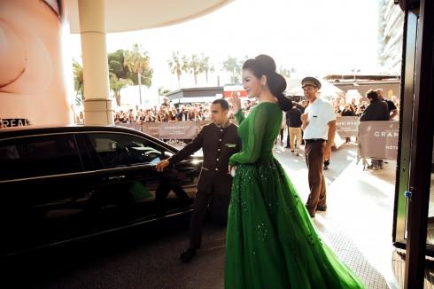 Vẻ đẹp đầy chất thơ của Lý Nhã Kỳ tại Cannes 2016 05
