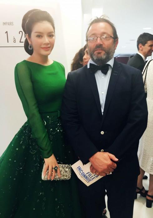 Vẻ đẹp đầy chất thơ của Lý Nhã Kỳ tại Cannes 2016 10