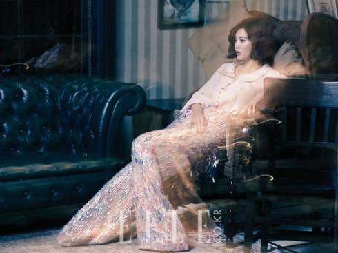 Kiểu tóc ấn tượng của Song Hye Kyo qua từng thời kì - ELLE Việt Nam (16)