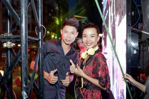 DJ Kaiser T và Hà Linh Vân