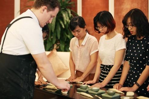 các học viên được giới thiệu 10 loại bánh mỳ đặc biệt trong đó có nhiều loại bánh truyền thống của Pháp, Ý