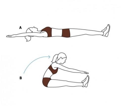 6 bài tập cơ bụng cơ bản dễ thực hiện 4