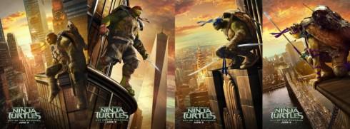 NinJa Turtles poster phim