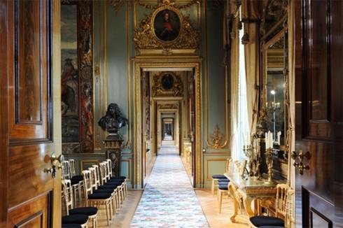 Bộ sưu tập thời trang Dior Cruise 2017 Cung điện Blenheim, Oxfordshire, Anh