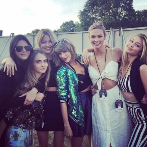 Gigi Hadid là một người bạn lâu năm của Taylor Swift