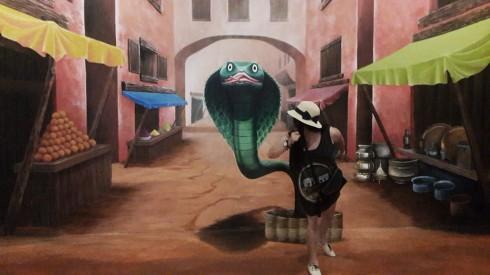 """""""Chạy thôi nào ..."""" - Cơ hội làm diễn viên tại For Art's Sake (4D Museum)"""