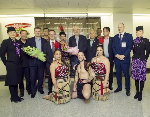 Các đại diện chủ chốt từ Air New Zealand, New Zealand và Việt Nam