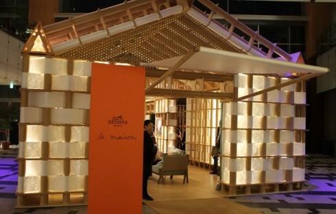 Cửa hàng pop-up của Hermès ở Tokyo mang tính thẩm mỹ tuyệt vời!