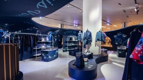 Cửa hàng pop-up chuyên bán đồ nam của Louis Vuitton