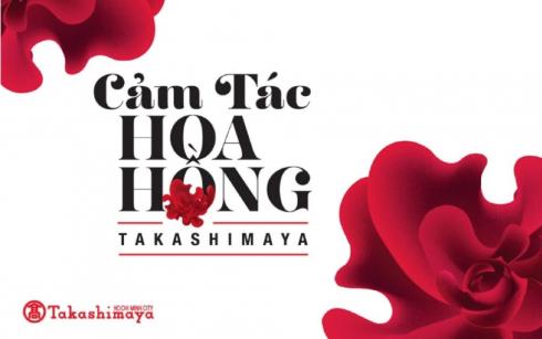 Cuoc thi cam tac hoa hong Takashimaya