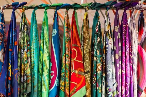Các hoa văn tuyệt đẹp trên chiếc khăn lụa Hermes nghìn đô 1