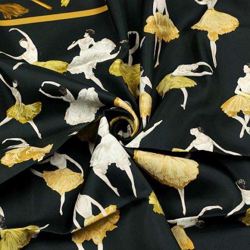 Các hoa văn tuyệt đẹp trên chiếc khăn lụa Hermes nghìn đô 1961 - La Danse, Jean-Louis Clerc