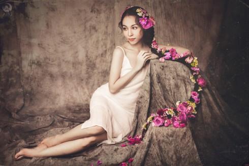 Hà Phương Thu luôn tự hào về suối tóc xinh đẹp của mình