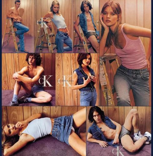 Calvin Klein và dục tính trong những bộ ảnh thời trang 5