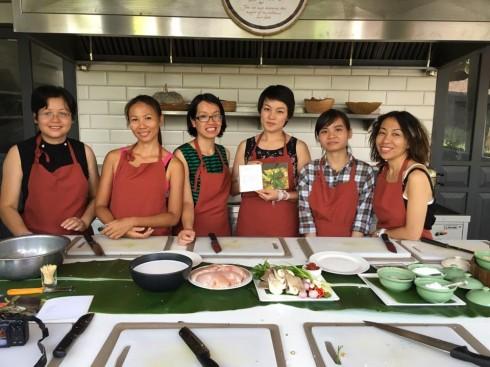 Ka - Toke Cooking Class tại Sofitel Luang Prabang với các vị khách du lịch đến từ Việt Nam.