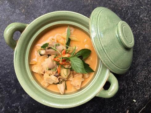 Phanaeng kai - Cà ri gà