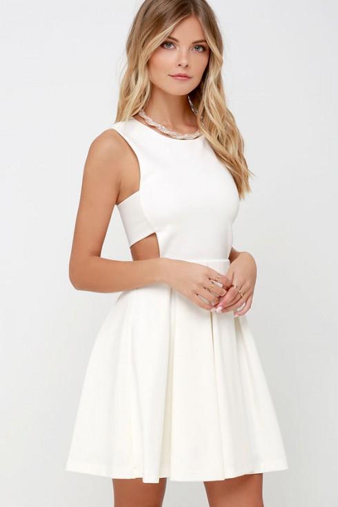 Biến đầm trắng thành vũ khí thời trang của bạn 3