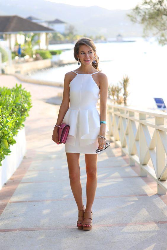 Biến đầm trắng thành vũ khí thời trang của bạn 12