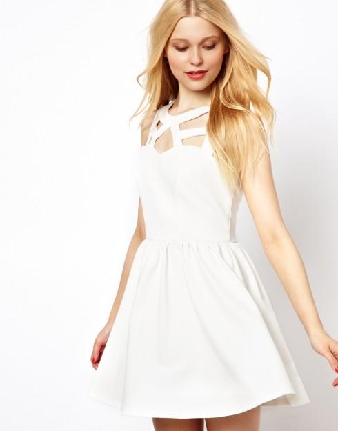 Biến đầm trắng thành vũ khí thời trang của bạn 4