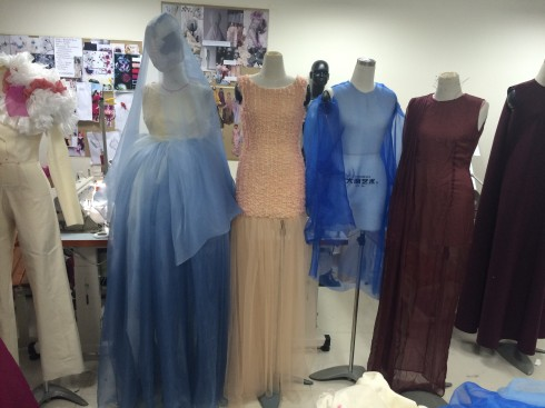 Sự kiện tốt nghiệp của sinh viên ngành thiết kế thời trang trường Đại học Hoa Sen 1