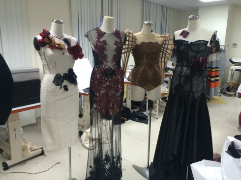 Sự kiện tốt nghiệp của sinh viên ngành thiết kế thời trang trường Đại học Hoa Sen 10. Thuy