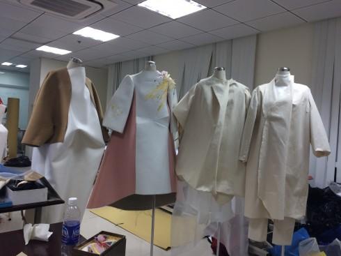 Sự kiện tốt nghiệp của sinh viên ngành thiết kế thời trang trường Đại học Hoa Sen 3