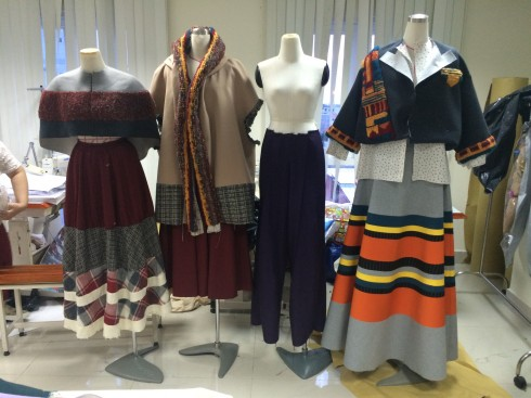 Sự kiện tốt nghiệp của sinh viên ngành thiết kế thời trang trường Đại học Hoa Sen 4