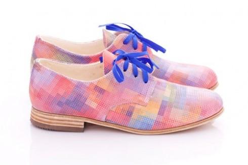 Phong cách thời trang boho chic qua giày oxfords