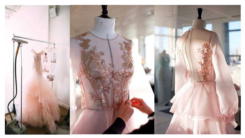 Hình ảnh hậu trường Bridal Spring Fashion Week 2017