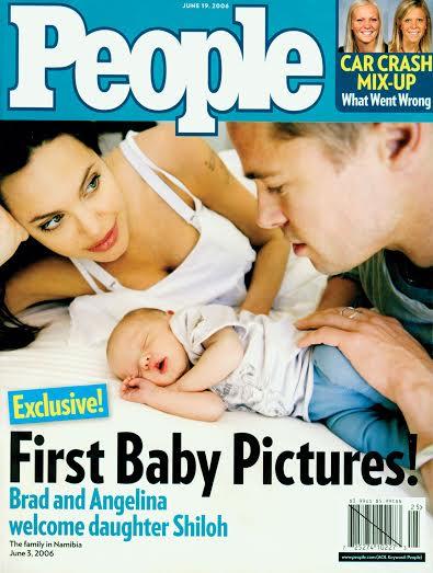 Toàn bộ số tiền trị giá hàng triệu đô có được nhờ bán những bức ảnh cho tạp chí đều được chuyển tới các tổ chức từ thiện.