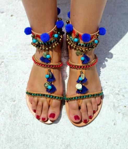 Cách phối đồ layering theo sandal