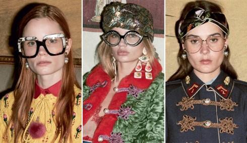 Phong cách thời trang Geek Chic với mắt kính cận