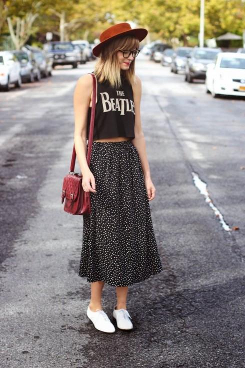 Phong cách thời trang Geek Chic với giày oxford