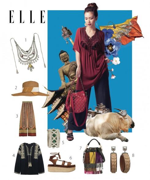 Phong cách thời trang du lịch Bhutan