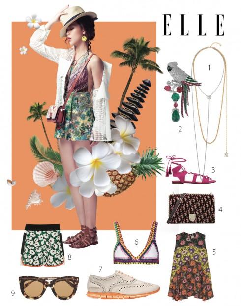 Phong cách thời trang du lịch Bali