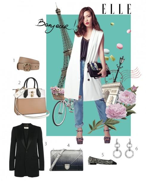 Phong cách thời trang du lịch Paris
