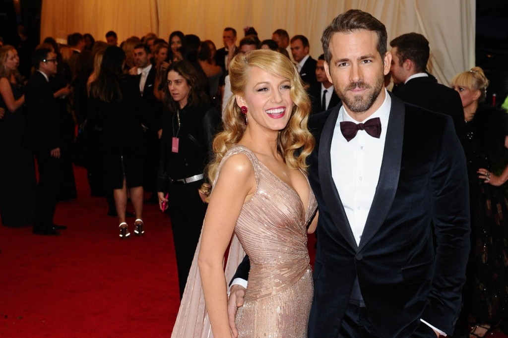 Ngôi sao Hollywood Blake Lively cùng chồng