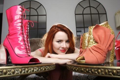 Jane Aldridge có niềm yêu thích đặc biệt với giày.