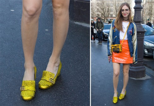 Tài khoản instagram fashionista Chiara Ferragni