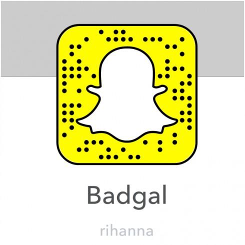 Tài khoản Snapchat người nổi tiếng: RIhanna