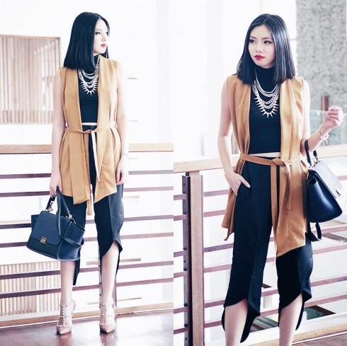 Tài khoản instagram fashionista Olivia Lazuardy