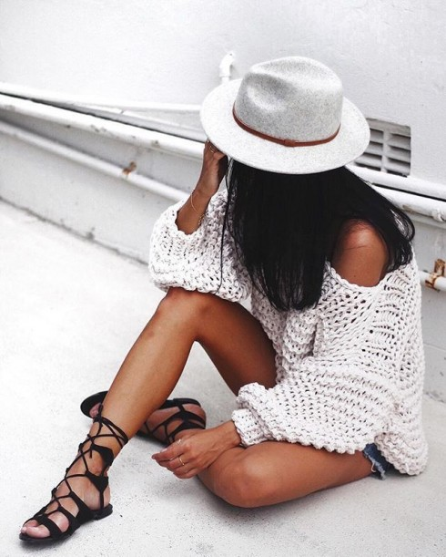 Sandal lace up nữ đẹp dành cho mùa Hè