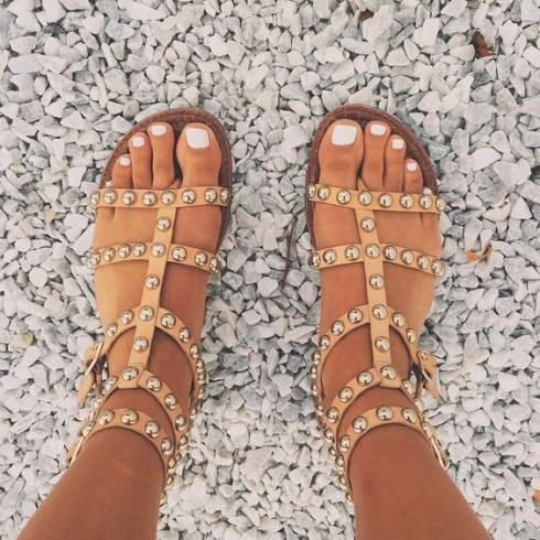sandal nữ đẹp dành cho mùa: sandal chiến binh Gladiator