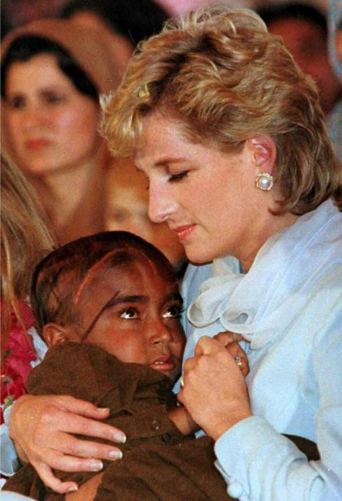 Công nương Diana trong đời thường